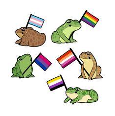 Pet Frogs, All Meme, Frog Art, Frog And Toad, Cute Memes, Oui Oui, Cute Gay, Lesbian, Pride