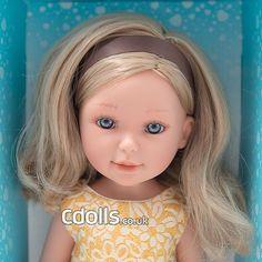 Paulina Sunny Autumn from Vestida de Azul dolls collection Face, Blue Nails, Faces