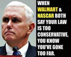 "Religious Freedom bill ""misunderstood"" says Gov. Pence. Can you spell BACKFIRE?"