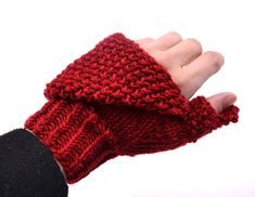 convertible knitting pattern for mittens