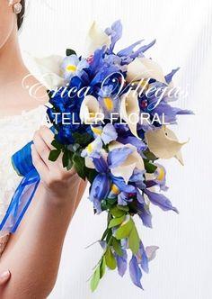 Bouquet en cascada con iris de Erica Villegas Atelier Floral | Foto 20