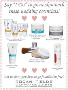 Look your absolute best with Rodan + Fields! Skin Care, Acne, Wrinkles, Dark Spots, Melasma, Redness, Eczema, Crow's Feet- Rodan + Fields has a Solution! h