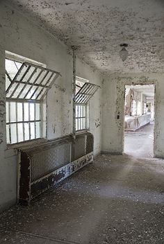 Visit an abandoned psychiatric institution - Dorothea Dix State Hospital's campus in Raleigh, NC.