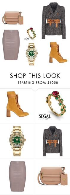 """""""Puro luxo"""" by loreninha1 ❤ liked on Polyvore featuring Chloé, Rolex, Tom Ford, Jitrois and Valentino"""