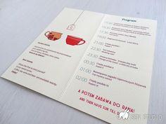 Sen Studio - Tea Time - zaproszenia ślubne