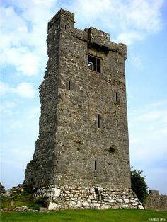 Muckinish Castle, Co Clare, ca 1450 | Ireland in Ruins