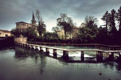 Sacile - The bridge on the Livenza River Most Beautiful, Beautiful Places, Wide World, Visit Italy, Old Town, Bella, Places Ive Been, Castle, Traveling
