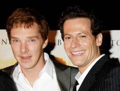 Ioan with Benedict Cumberbatch