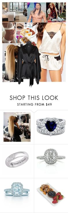 """""""""""Good Morning Superman""""💖Carola💖"""" by carolalink ❤ liked on Polyvore featuring BERRICLE, Mark Broumand and La Perla"""