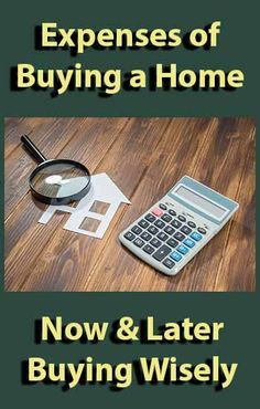 Buying a Home - Expenses Now and Later. #househunting #realestate #homebuying #homebuyingtips