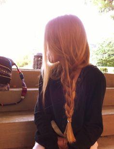 70 Braided Hairstyles for Winter 2018 - Hairstyles Trends Pretty Hairstyles, Braided Hairstyles, Hair Inspo, Hair Inspiration, Loose Braids, Messy Braids, Side Braids, Aesthetic Hair, Dream Hair
