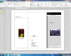 Creating a Brochure in Microsoft Publisher 2010