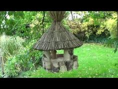 "How I made a bird feeder ""Danish"" (Mike Haduck) Make A Bird Feeder, Bird Feeders, Wine Corks, Wine Making, Mosaics, Danish, Denmark, Garden, Outdoor Decor"