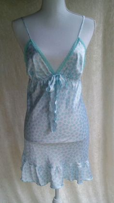 Victoria's secret angels chemise night gown medium  #VictoriasSecret…