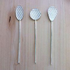 Honey Spoons 2015, sterling silver - Sylvia Nevistic