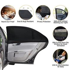 US$ 25.99 - Universal Slip On Window Shades - www.maicei.com Best Car Sun Shade, Window Sun Shades, Car Cooler, Car Paint Jobs, Diy Wall Painting, Red Fashion, Animals For Kids, Car Seats, Slip On