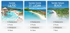 Sandals La Toc St. Lucia Highlight 4  St. Lucia is wonderful!