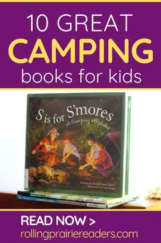 These camping books for kids are perfect for a preschool at home camping unit or to get your children ready for a family camping trip. Camping Activities For Kids, Rainy Day Activities, Camping With Kids, Family Camping, Learning Through Play, Fun Learning, Camping Books, Kindergarten Age, Alphabet Writing