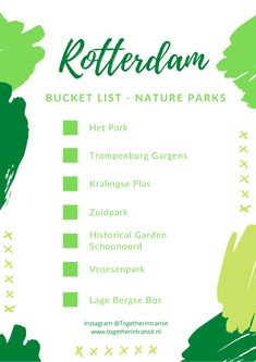 Rotterdam Bucket List: Dutch Checklist Of Must See's and Things To Do!