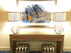 Eggshell Home - Pasea Hotel Spa Beach Modern Console and Beach Art