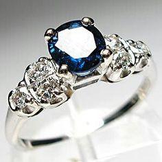 Saphire engagement ring