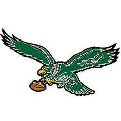Philadelphia Eagles Throwback! football