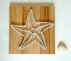 String art - estrela do mar