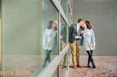 Fort Wayne Engagement // Kelly & Jake's Engagement Session in cold, snowy Fort Wayne