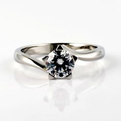 Platinum and Diamond Star Ring by AImee Winstone. The perfect engagement ring? I like the shape of this one Perfect Engagement Ring, Engagement Ring Settings, Diamond Engagement Rings, Snow Wedding, Dream Wedding, Bride And Groom Pictures, Proposal Ring, Star Ring, Designer Engagement Rings