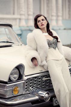 White Fox Fur Jacket ........Dear Santa