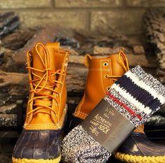 Camp socks- L.L Bean Boots.