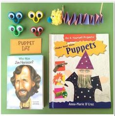 Pediatric Tx Activity of the Week: Puppet Crafts and Activities-pinned by @PediaStaff – Please Visit  ht.ly/63sNt for all our pediatric therapy pins