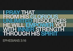 He WILL empower you