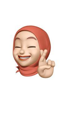 Emoji Stickers Iphone, Emoji Wallpaper Iphone, Cute Emoji Wallpaper, Iphone Wallpaper Tumblr Aesthetic, Cute Cartoon Wallpapers, Instagram Emoji, Girl Emoji, Hijab Cartoon, Instagram Highlight Icons