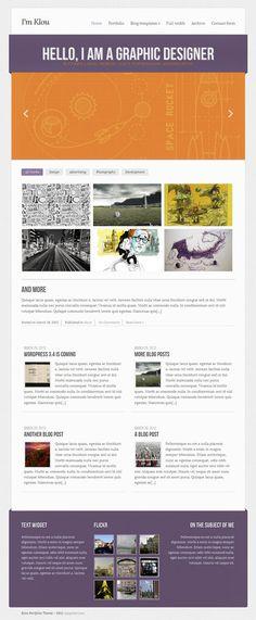 Klou WordPress Theme By CSSIgniter