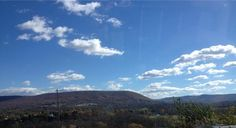 It was an absolutely gorgeous fall day in Happy Valley today. @MtNittany really stands out against a blue sky. #PAwx