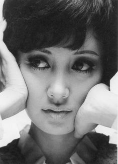 by Tetsuro Nakamura Japanese Beauty, Japanese Girl, Asian Beauty, 1960s Fashion Women, Vintage Fashion, Idole, Japanese Characters, Old Actress, Timeless Beauty