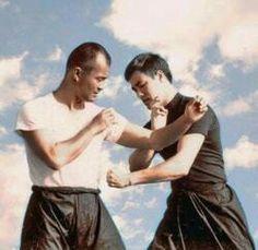 Guru Inosanto and Bruce lee drilling. Martial arts legends. Jeet Kune Do JKD appreciation and inspiration