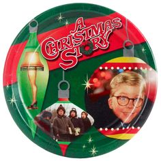 A Christmas Story Dessert Plates (8 Count) - Paper