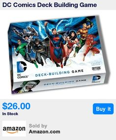 "Play as Batman, Superman, Wonder Woman, Aquaman, The Flash, Green Lantern, or Cyborg. * Each Super Hero has a unique special ability that will open up different strategies to the player. * When a new Super-Villains arrives, it hits all players with a dangerous ""First Appearance"" Attack. Defend yourself! * Every card has incredible art featuring your favorite characters. Over 200 cards! * A super deck-building card game for 2-5 players, ages 15+, with easy to learn rules, and a 45 minute play"