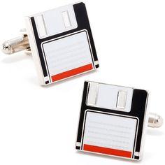 Floppy Disk Cufflinks