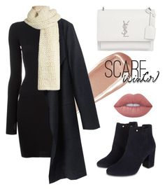 """""""Simple Winter Look"""" by wiena-chantika-a on Polyvore featuring adidas Originals, Monsoon, Lime Crime, NARS Cosmetics, Yves Saint Laurent and I Love Mr. Mittens"""
