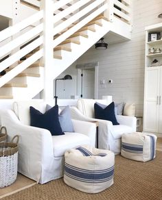 Coastal Style Home Builders those Beach Homes Decorating Ideas these Home Decor Ideas Living Room but Beach House Kitchen Interiors other Beach House Interior Design Colors Beach Cottage Style, Cottage Style Homes, Coastal Cottage, Beach House Decor, Coastal Style, Home Decor, Seaside Decor, Coastal Farmhouse, Modern Coastal