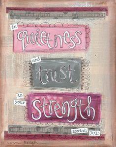 artbyerinleighSunday Scripture Art: Isaiah 5:13