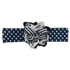 Utah State Navy Baby Headband