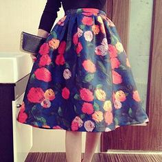 Floral A-Line Dress  from #YesStyle <3 Jolly Club YesStyle.com