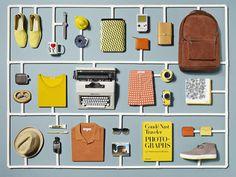 doworkdesign:  Mr. Porter Travel Promo by Sarah Parker