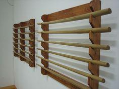 Dojo - Weapon racks by Miracle Mike, via Flickr