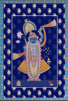 Krishna Painting, Madhubani Painting, Krishna Art, Shree Krishna, Pichwai Paintings, Indian Art Paintings, Landscape Paintings, Elephant Art, Indian Elephant