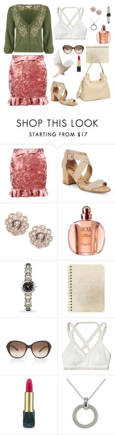 """""""2004"""" by diabolissimo ❤ liked on Polyvore featuring Boohoo, Sam Edelman, Ted Baker, Christian Dior, Allurez, Chloé, Hollister Co., Oribe, Giani Bernini and Vince Camuto"""